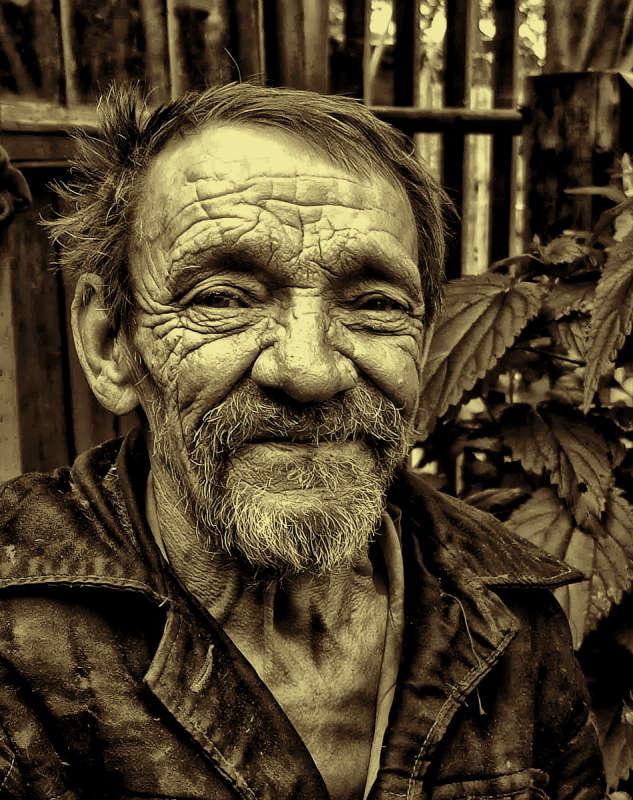 Портрет деревенского жителя