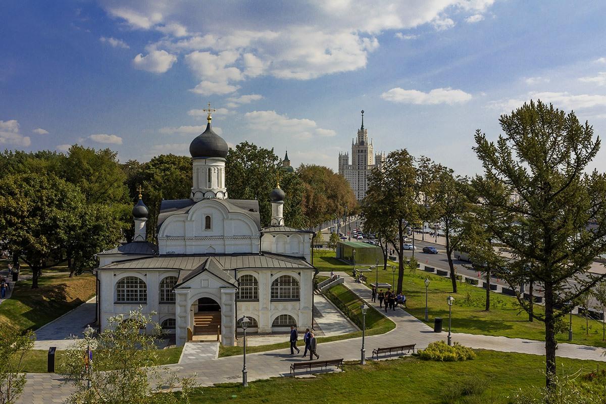 Церковь Зачатия Анны, что в Углу
