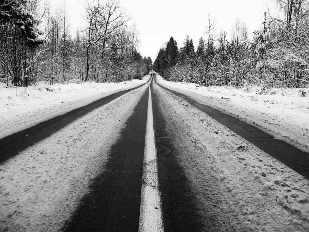 В дороге...