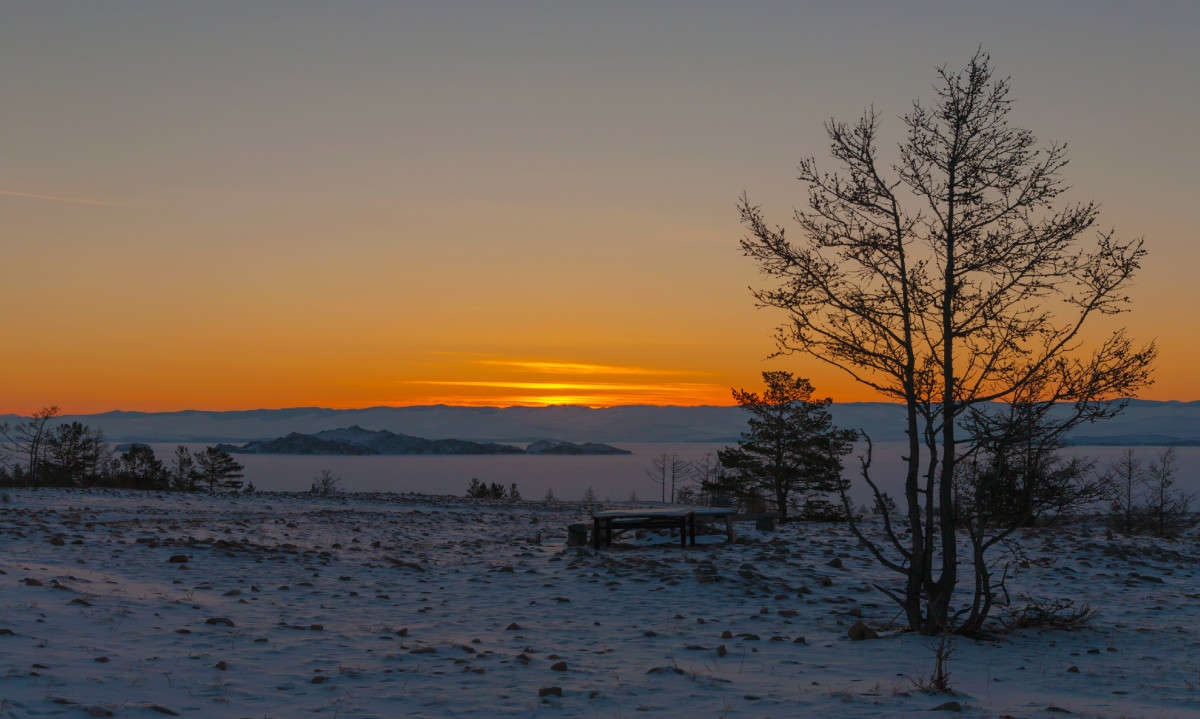 Утро морозное