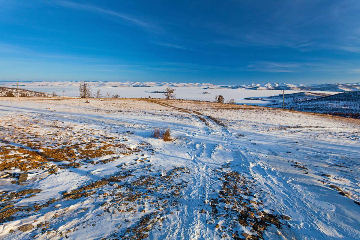 Зимняя дорога к Малому Морю