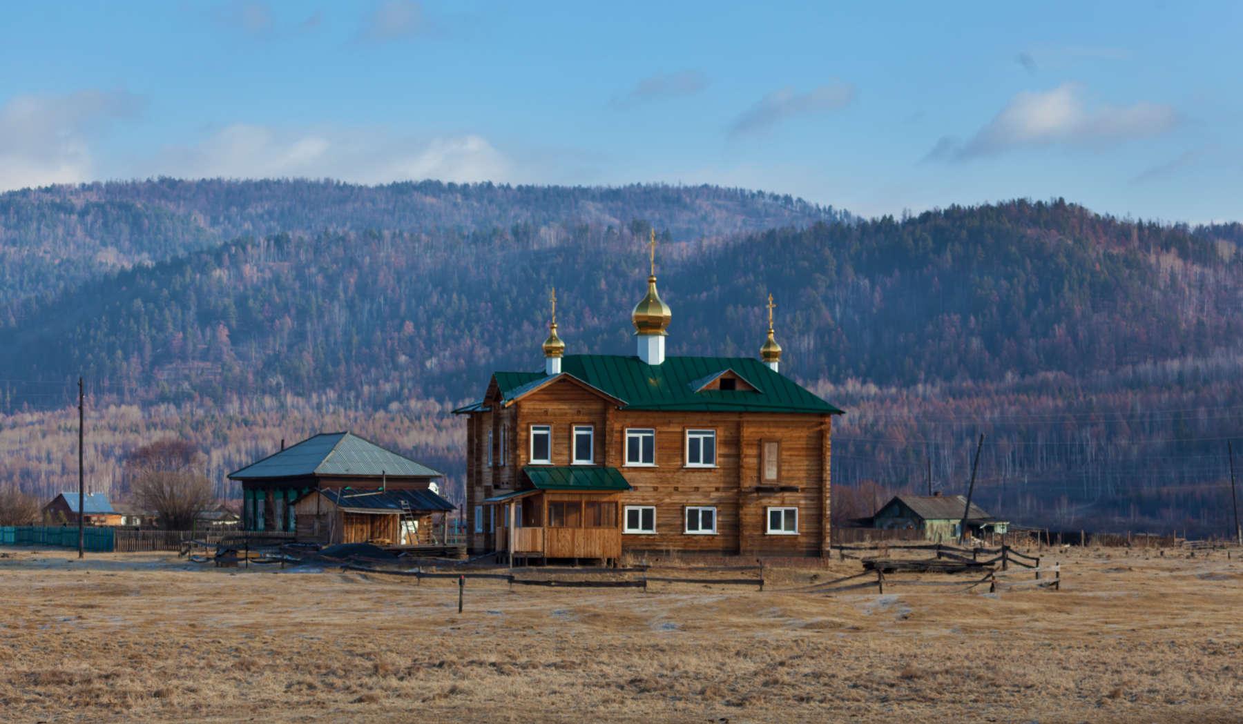 Церковь в селе Тибельти
