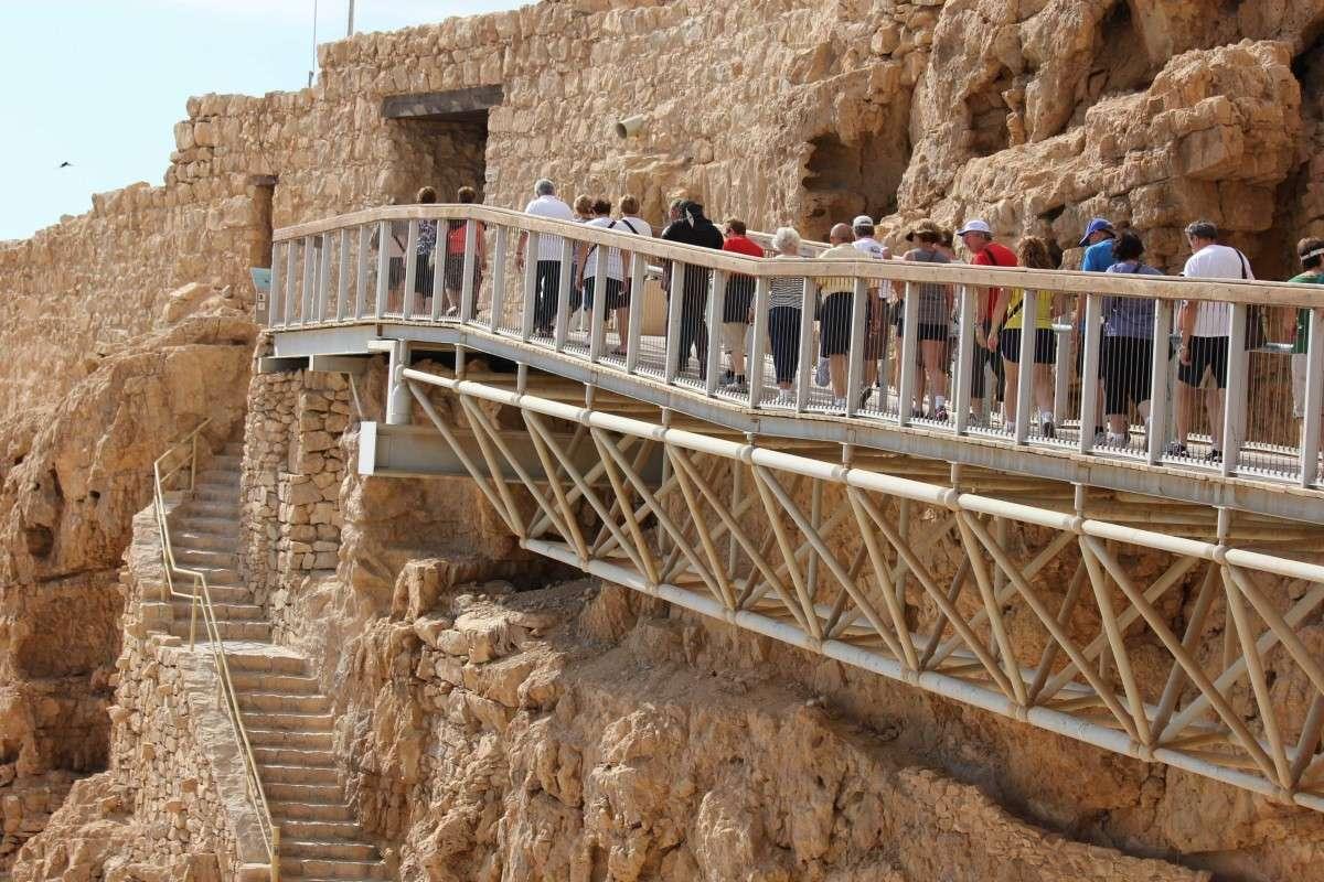Вход в город Иродион