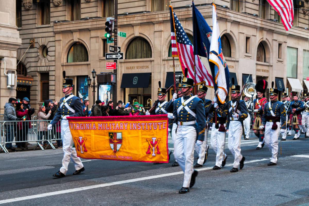 Парад в честь Дня Святого Патрика