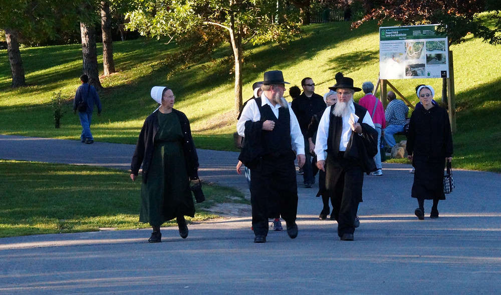 characteristics of the amish oneida and nashoba communities Members of the community could purchase shares of the community for fifty dollars a piece, and by 1853, the majority holders (two individuals) were concerned with the slow growth of the community and liquidated the organization the community of oneida was founded in 1848, by john humphrey noyes.