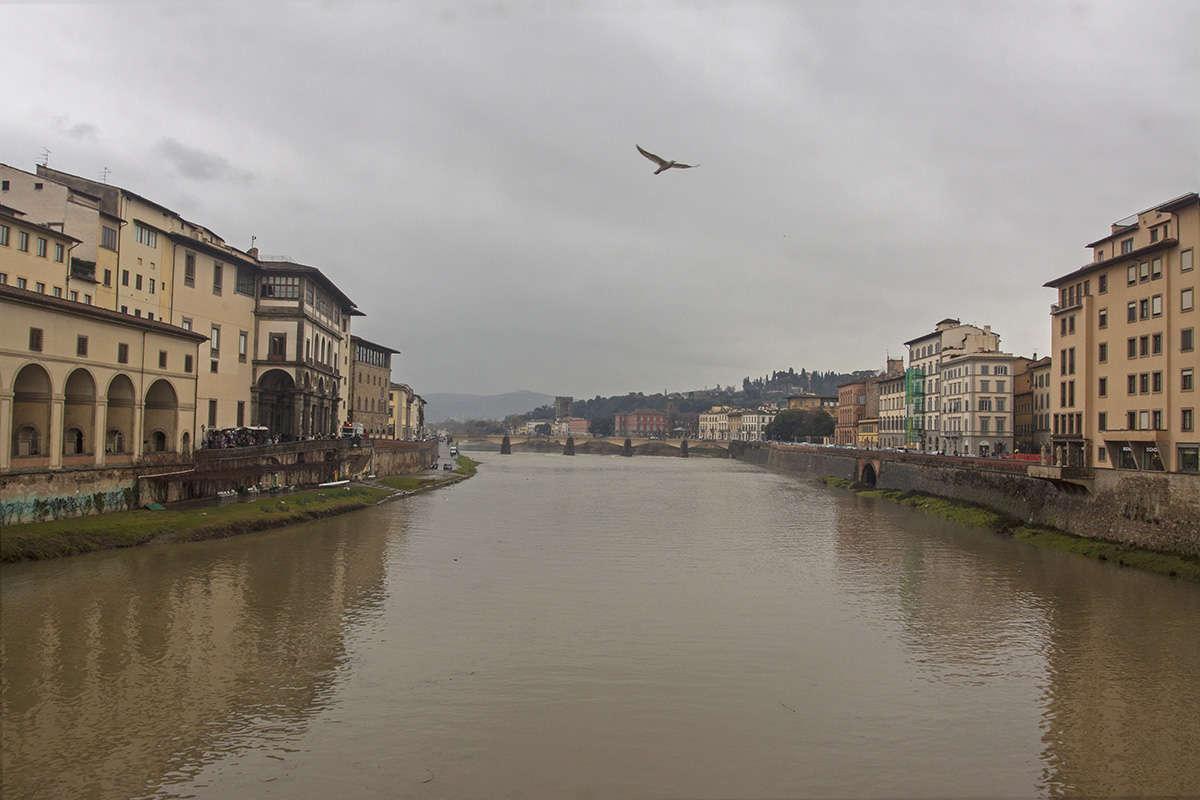 Флоренция, пасмурно