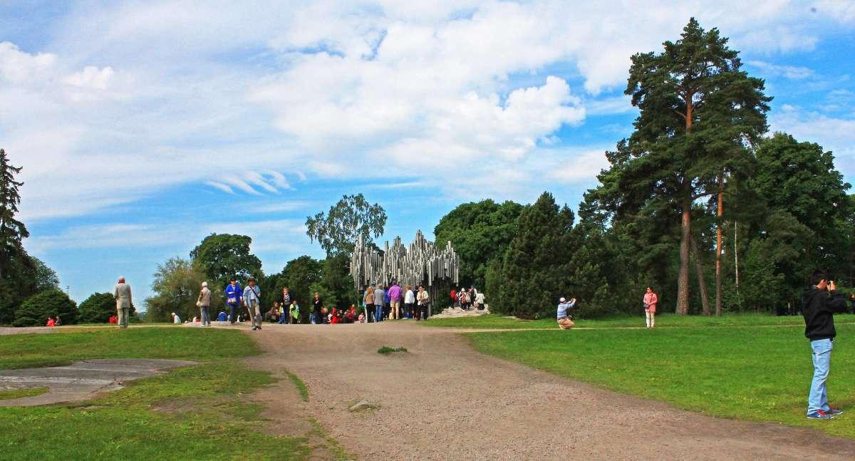 Парк Яна Сибелиуса.(Хельсинки)