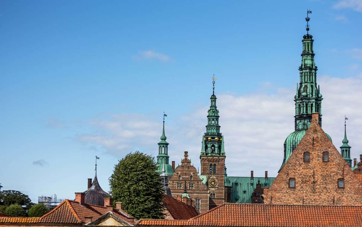 Замок Фредериксборг.(Дания)