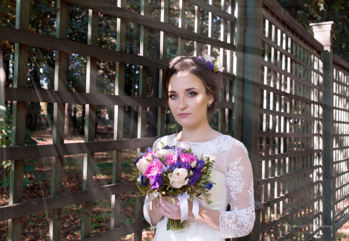 Фотосессия свадьбы в парке Кусково