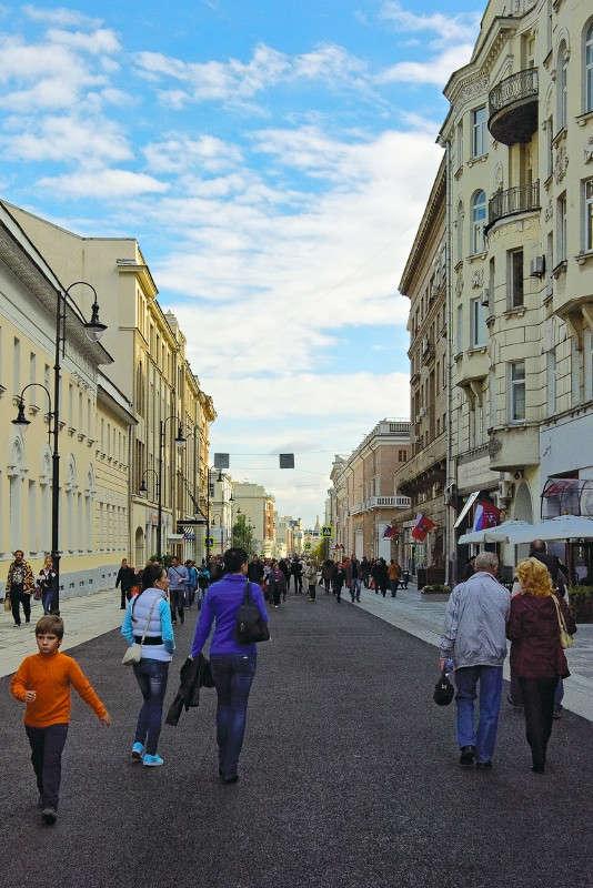 Пешеходная Б.Дмитровка