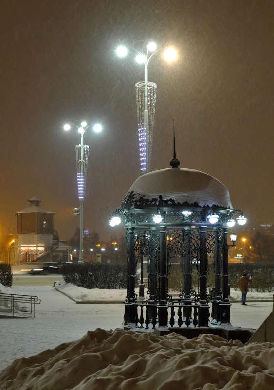 Снегопад....