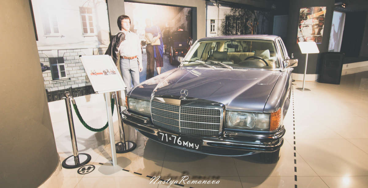 Один из авто Высоцкого