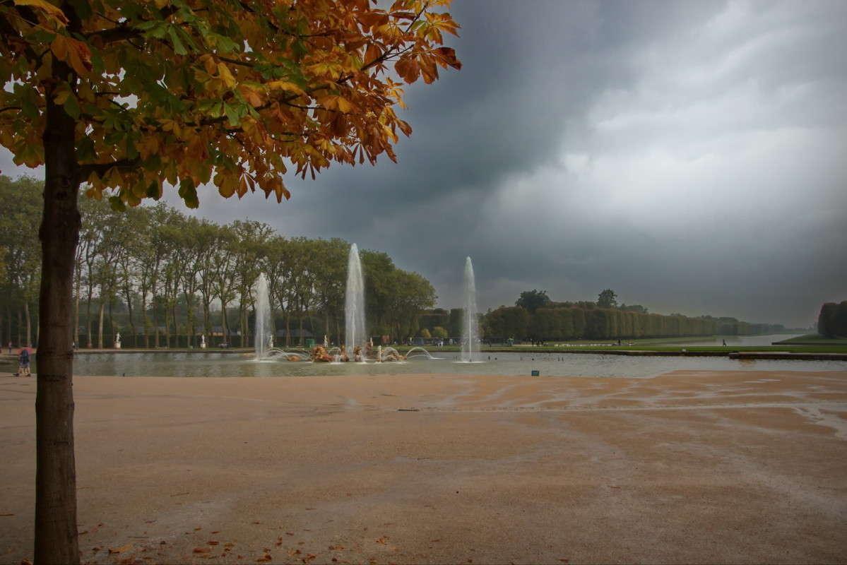 Осень в Версале