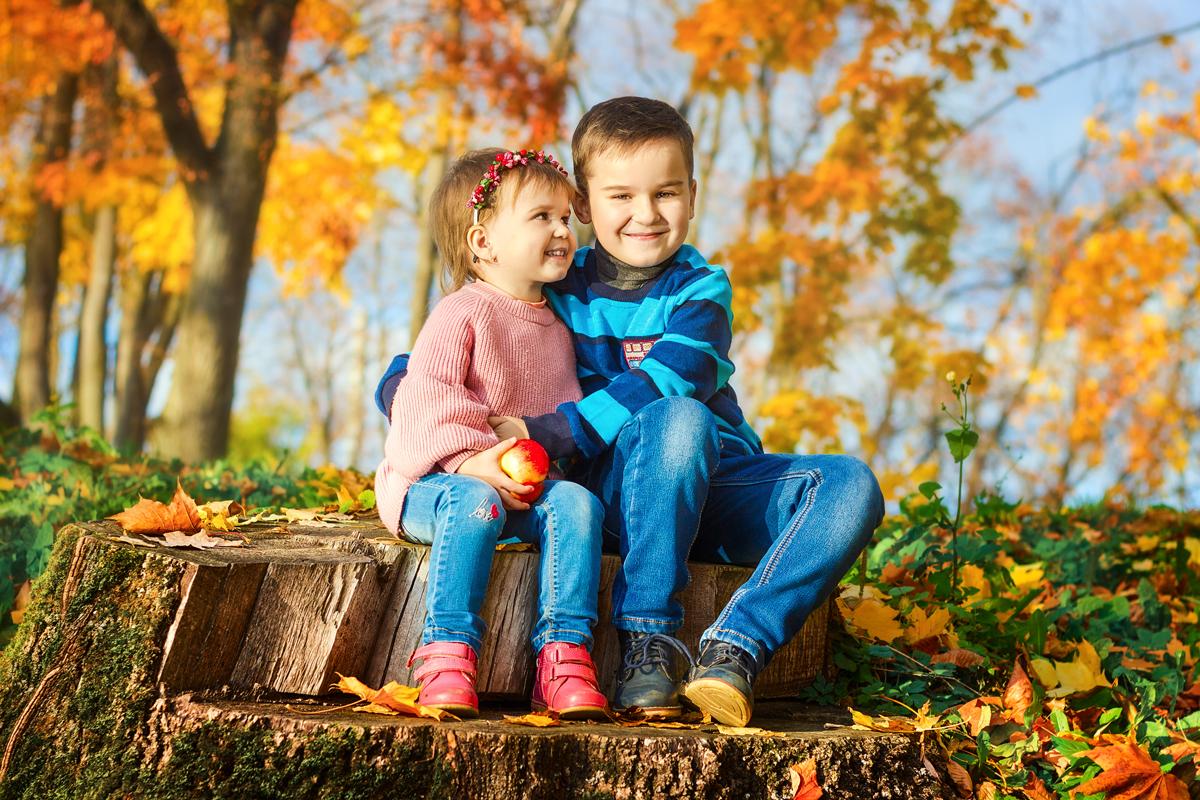 Осень - время согревать друг друга