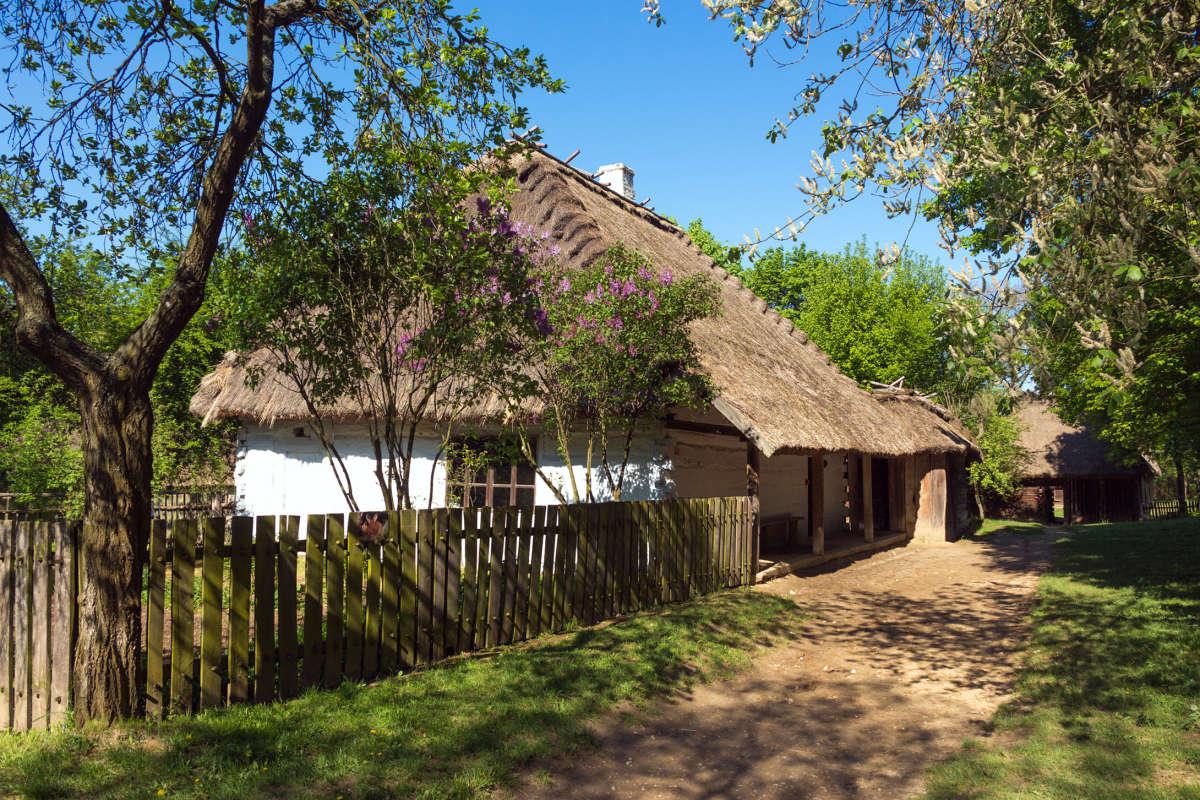 люблинская деревня