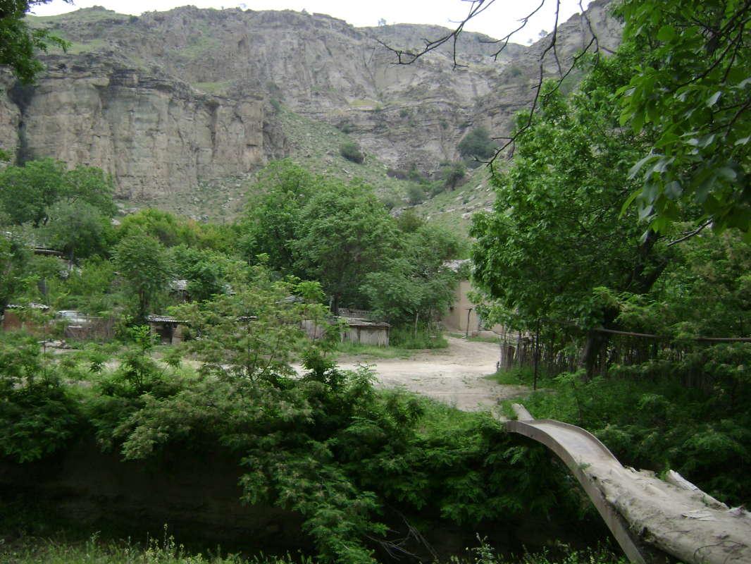 деревенский мостик...