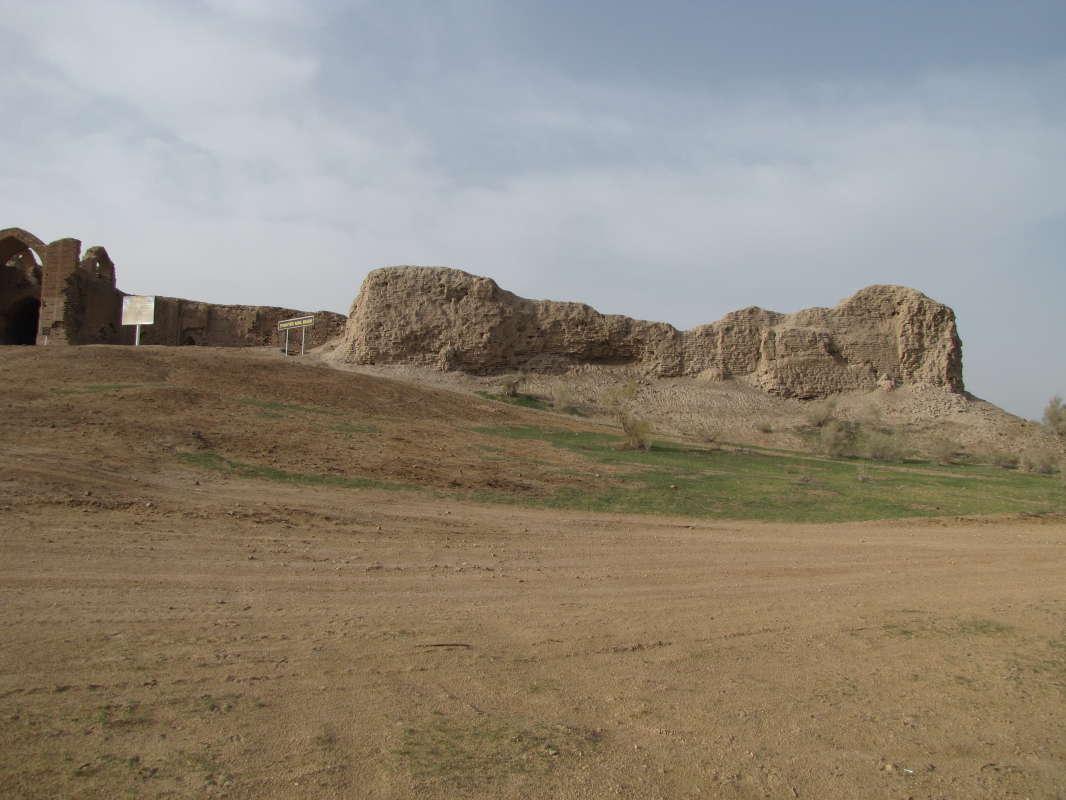 развалины крепости 12 века...