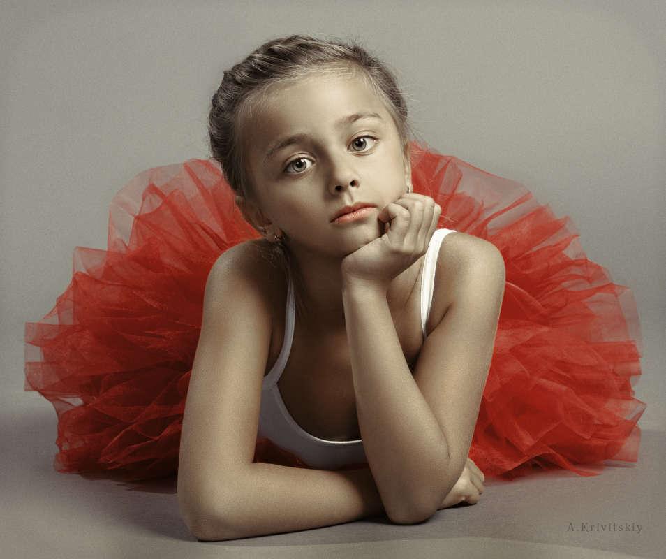 Children's portrait. Photo theater.