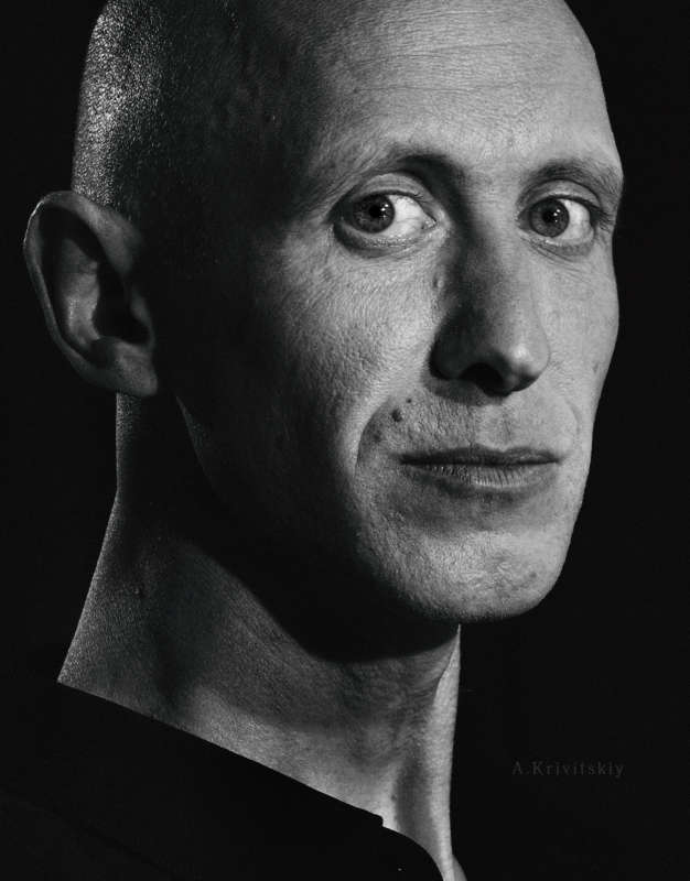 Портрет. Студия Фототеатра А. Кривицкого. Portrait. Studio of A. Krivitsky's Photo Theater.
