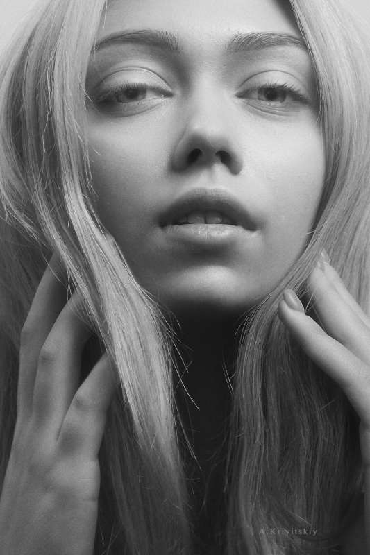 Portrait. Studio A. Krivitsky.