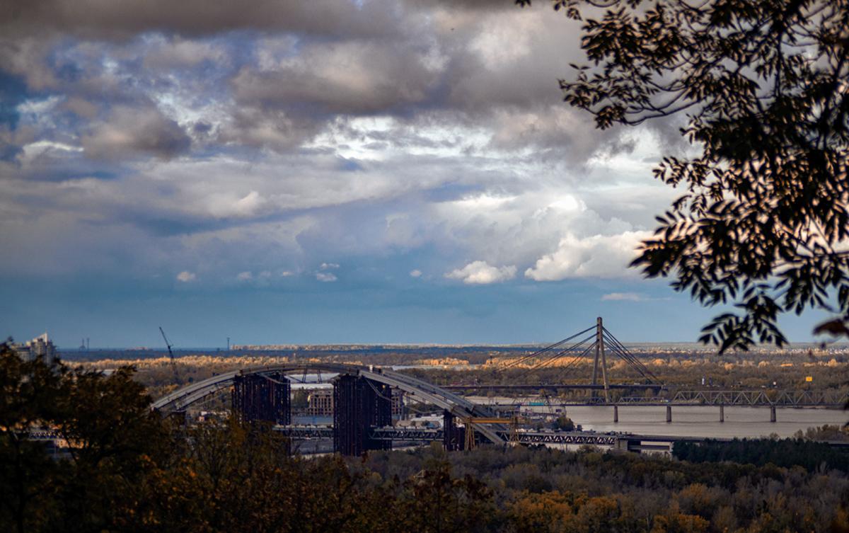 река.осень.мосты
