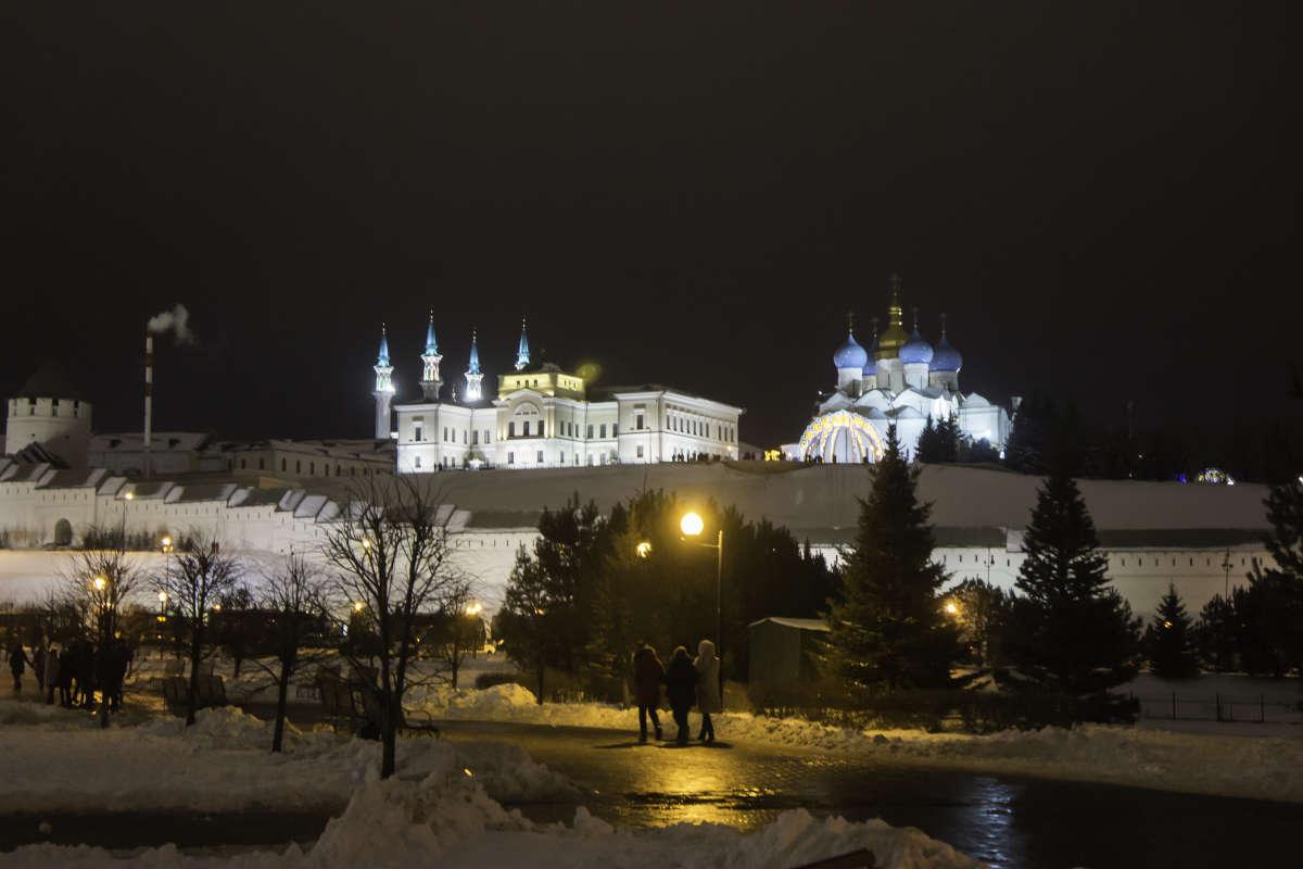 Казань новогодняя