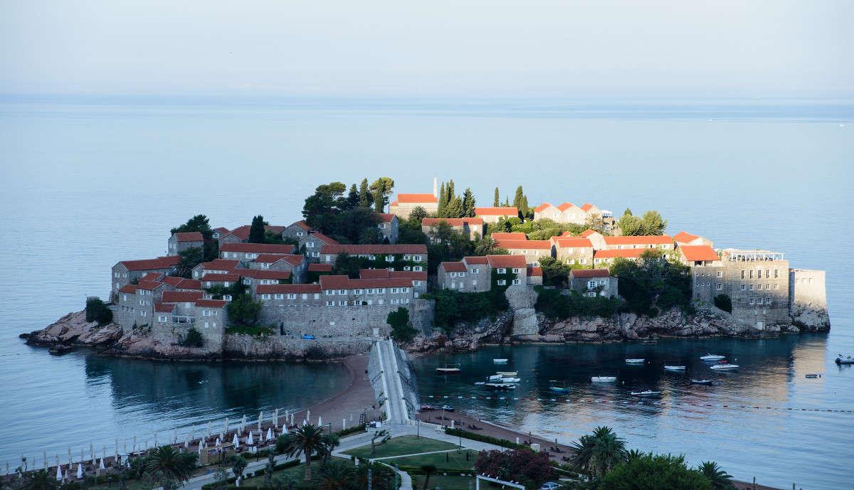Остров Святого Стефана, Черногория