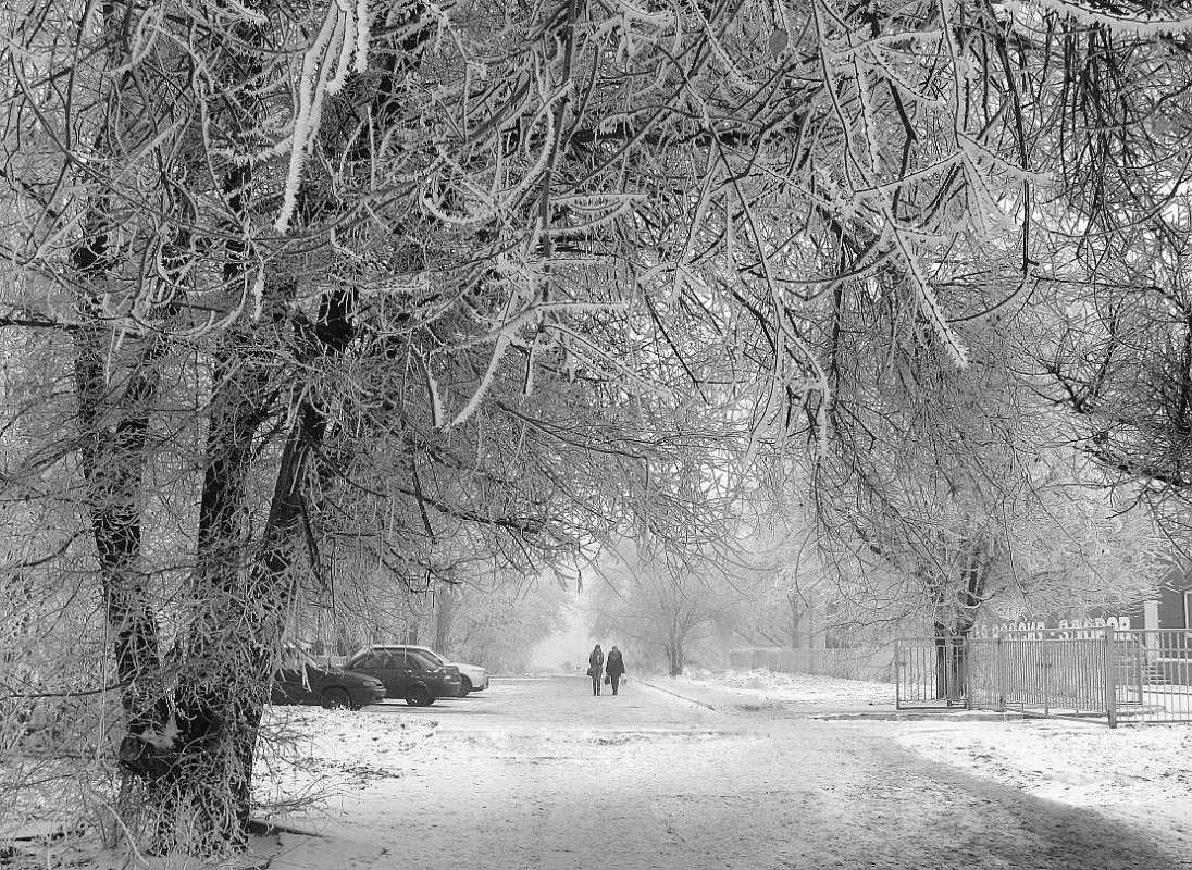Зимний городской мотив 3