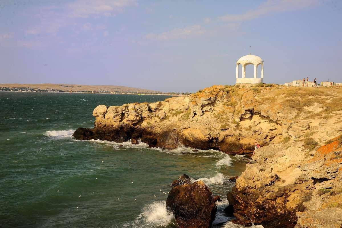 Крым. Щелкино