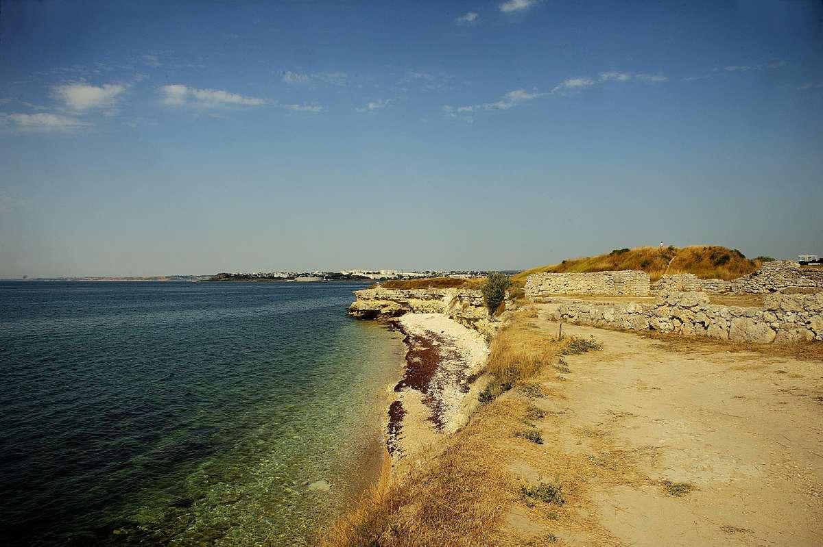 Крым. Берег моря