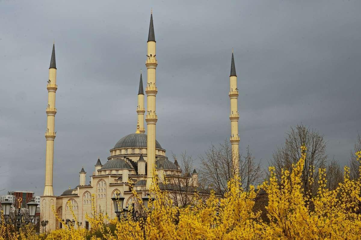 Мечеть Сердце Чечни. Грозный