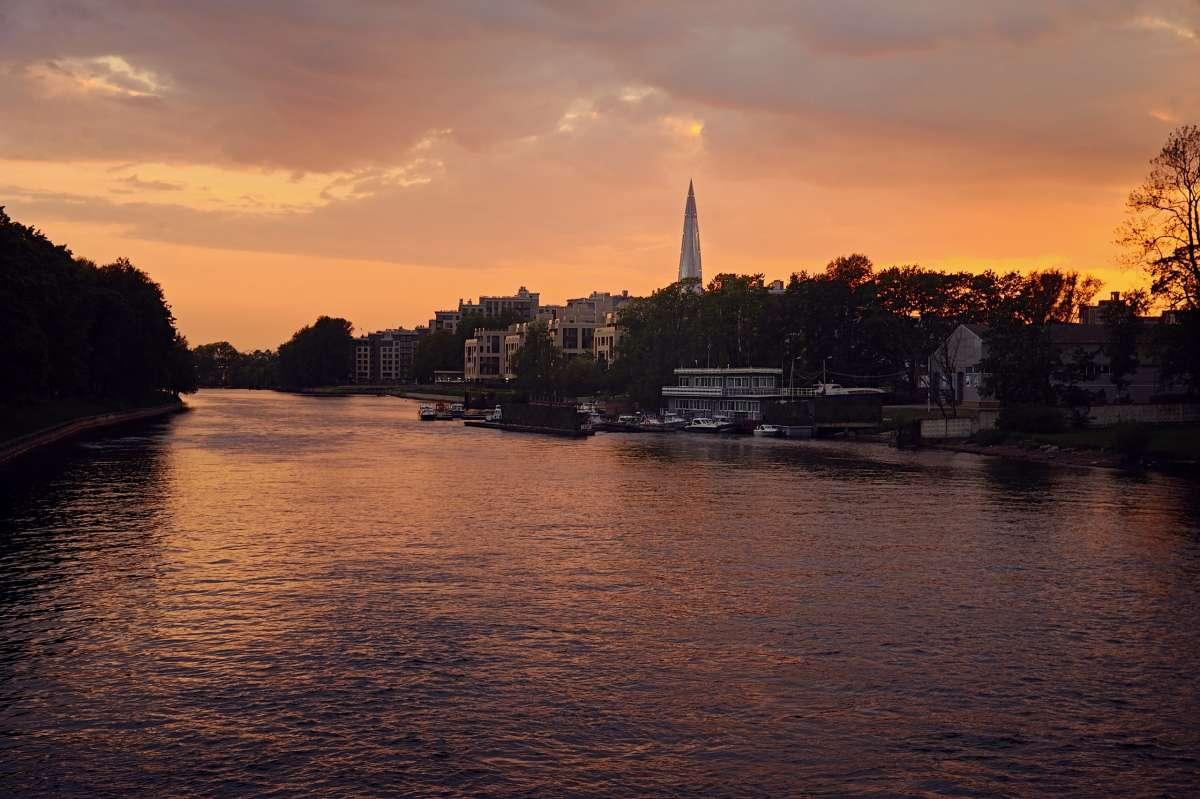 Санкт-Петербург. Вид на Лахта Центр
