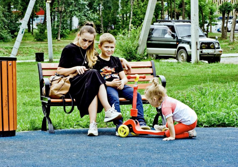 Семейный отдых в Детском парке