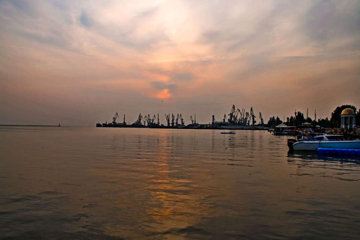 Бердянский порт....