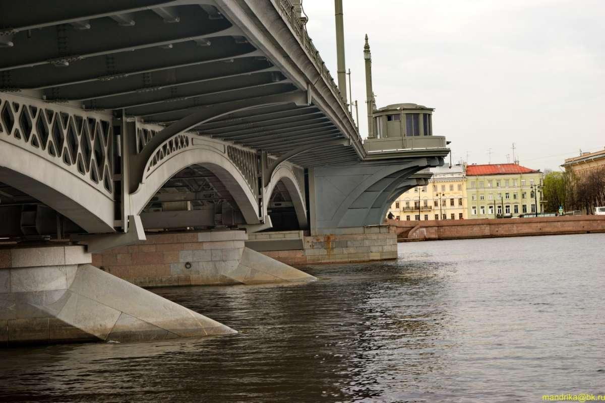 Благовещенский мост. Санкт-Петербург. 27 04 2019г.(3)