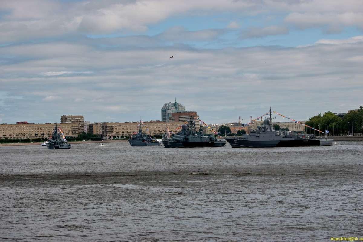 «День ВМФ в Санкт-Петербурге».(4)