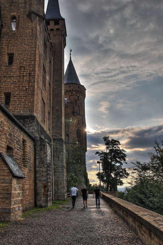 Замок Гогенцоллерн Burg Hohenzollern