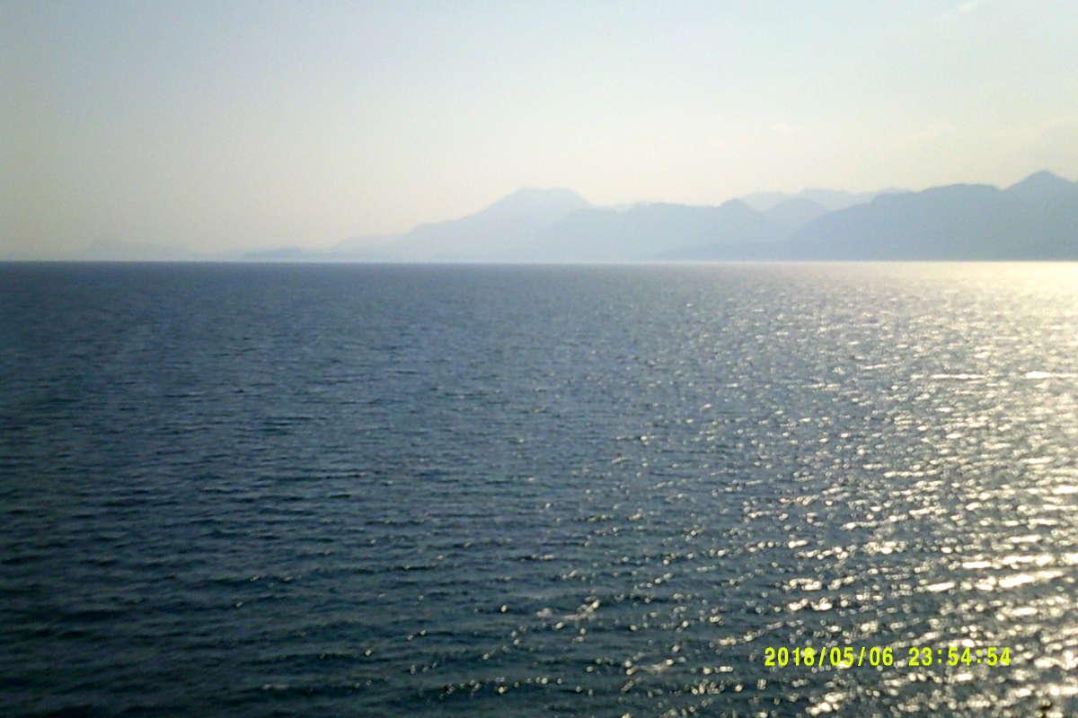 Как красиво Средиземное море!