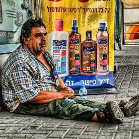 Про бомжа из Тель-Авива