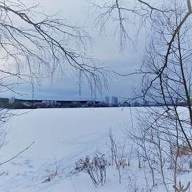 Екатеринбург. Нижне-Исетский пруд зимой