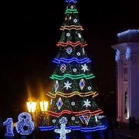 Главная елка Одессы