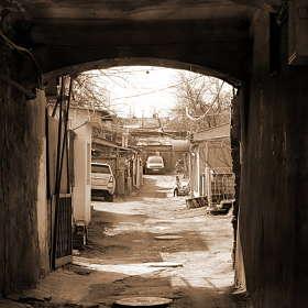Дворик старой Одессы