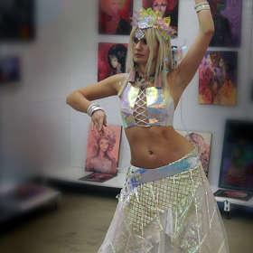 Танцовщица.