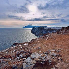 Восточный берег острова Ольхон