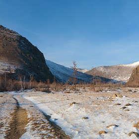 Дорога в Сарминское ущелье