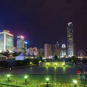 Набережная острова Гонконг