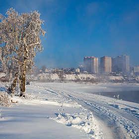 Окраина Иркутска