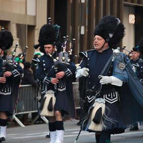 День Св. Патрика в Нью-Йорке