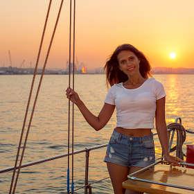 Вечер на яхте