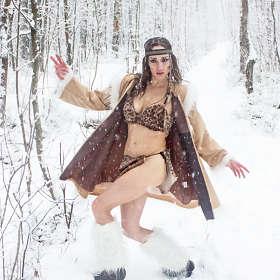 Танцы на снегу.